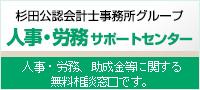 杉田公認会計士事務所グループ 人事・労務サポートセンター